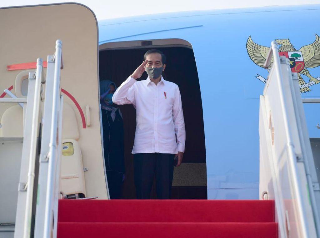 Tinjau Penanggulangan Corona, Jokowi Bertolak ke Jatim