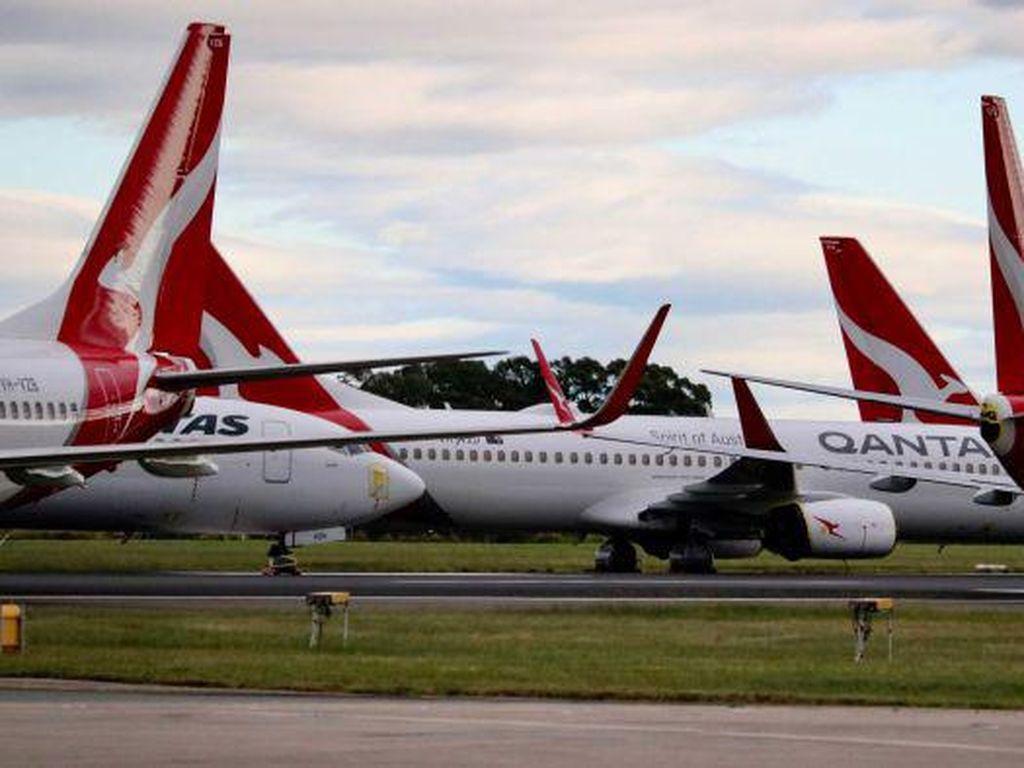 Qantas Pecat 6.000 Orang, Penerbangan Internasional Bisa Ditunda Hingga 2021