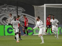 Setelah 528 Hari, Real Madrid Bikin Gol Tendangan Bebas Lagi