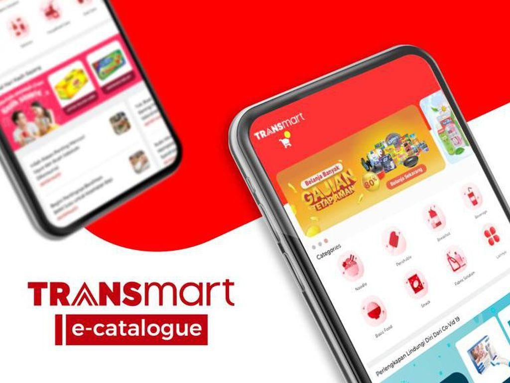 WFH Nggak Masak? Intip Cara Makan Antiribet di e-Catalogue Transmart