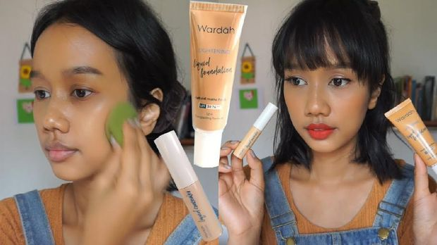 Produk terbaru, wardah lightening liquid foundation