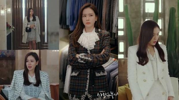 Karakter Son Ye Jin di Crash Landing On You terlihat jelas bahwa ia berasal dari keluarga kaya raya.