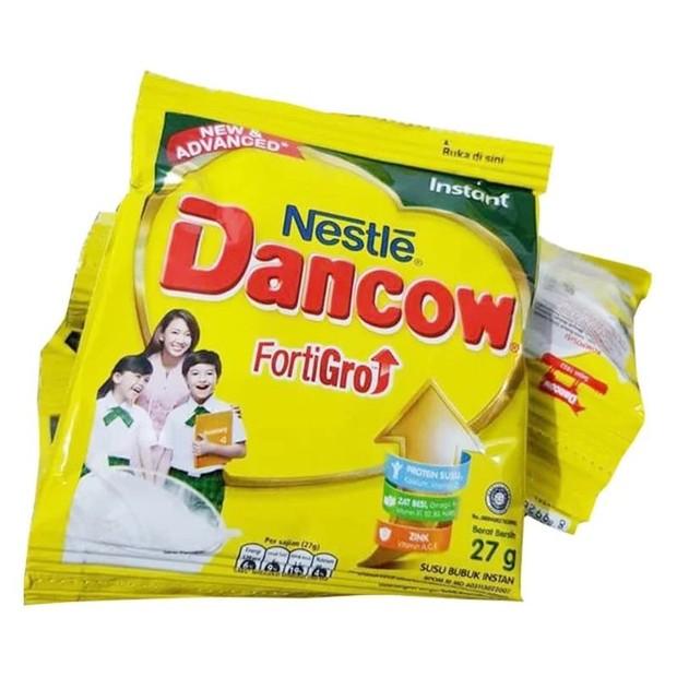 Susu dancow bubuk sebagai bahan baku masker wajah