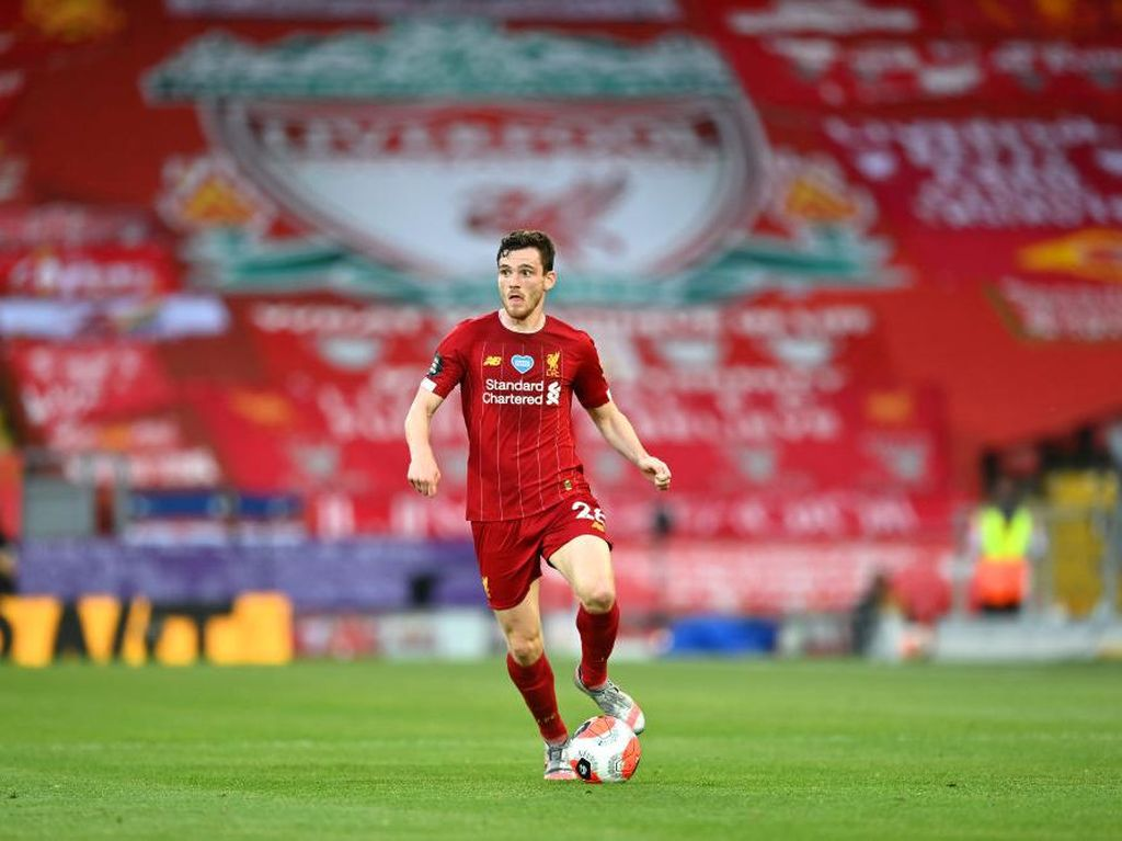 Liverpool Juara, Andy Robertson Ganti Background HP Nih
