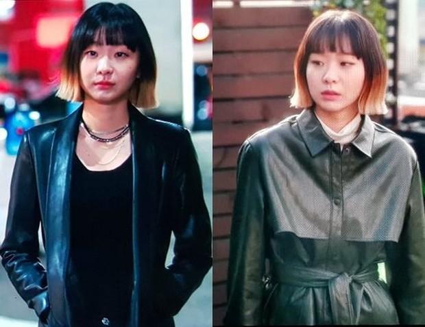 Fashion Kim Da Mi di Itaewon Class menggambarkan karakter yang kuat.