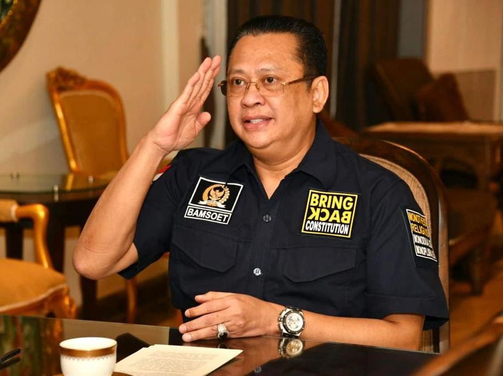 Ketua MPR Ajak Kader HMI Jadi Generator Pembangunan