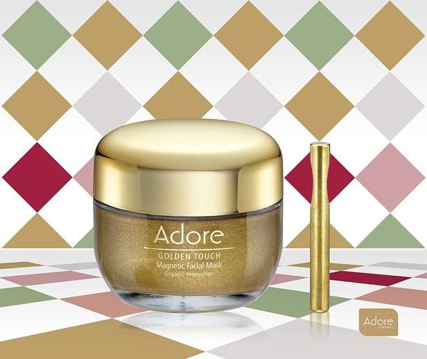 Adore Golden Touch Magnetic Facial Mask skincare berbahan emas murni