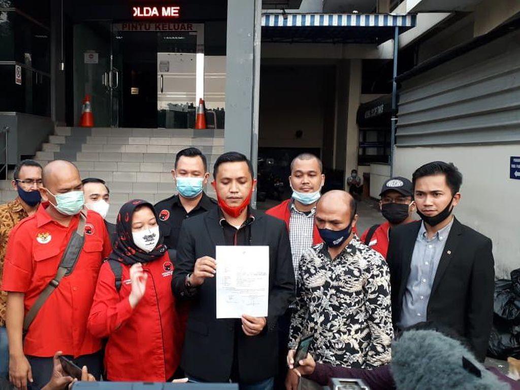 DPD PDIP Jakarta Laporkan Kasus Pembakaran Bendera ke Polda Metro