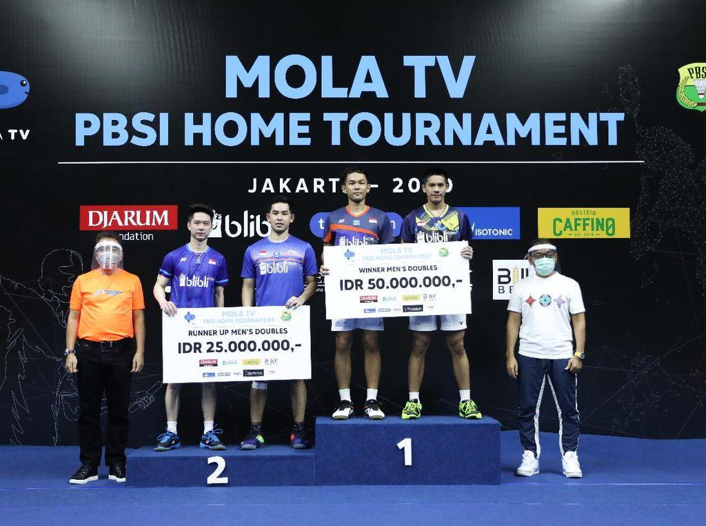 PBSI Home Tournament: Fajar/Yeremia Juara Ganda Putra