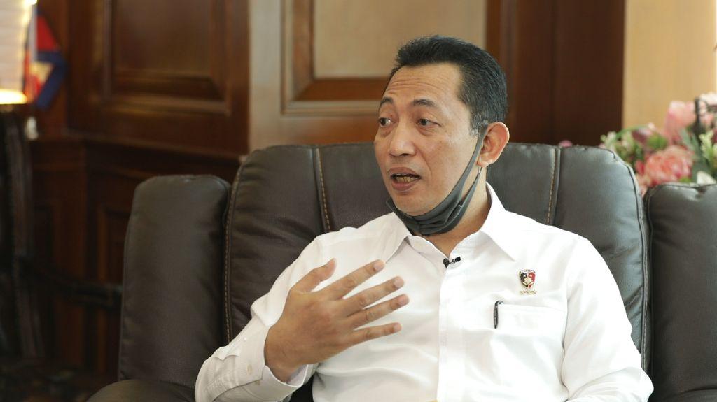Potret Komjen Listyo Sigit Calon Kapolri Tunggal Jokowi