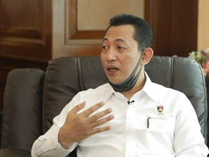 Komjen Listyo Sigit hingga Luhut Raih Top 10 Most Outstanding People
