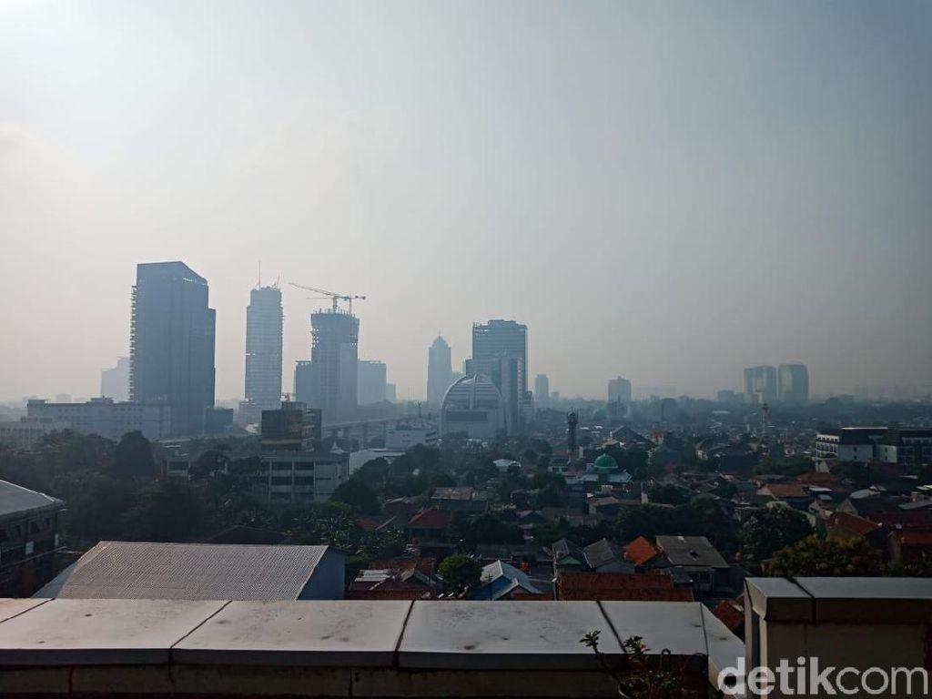 Jumat Pagi, Kualitas Udara di Jakarta Tidak Sehat