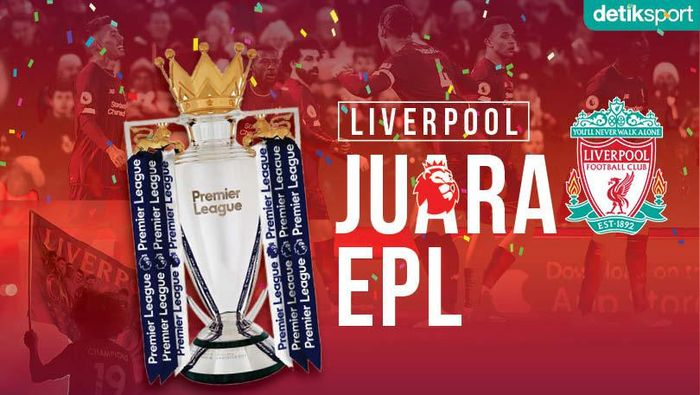 Liverpool Juara Liga Inggris!