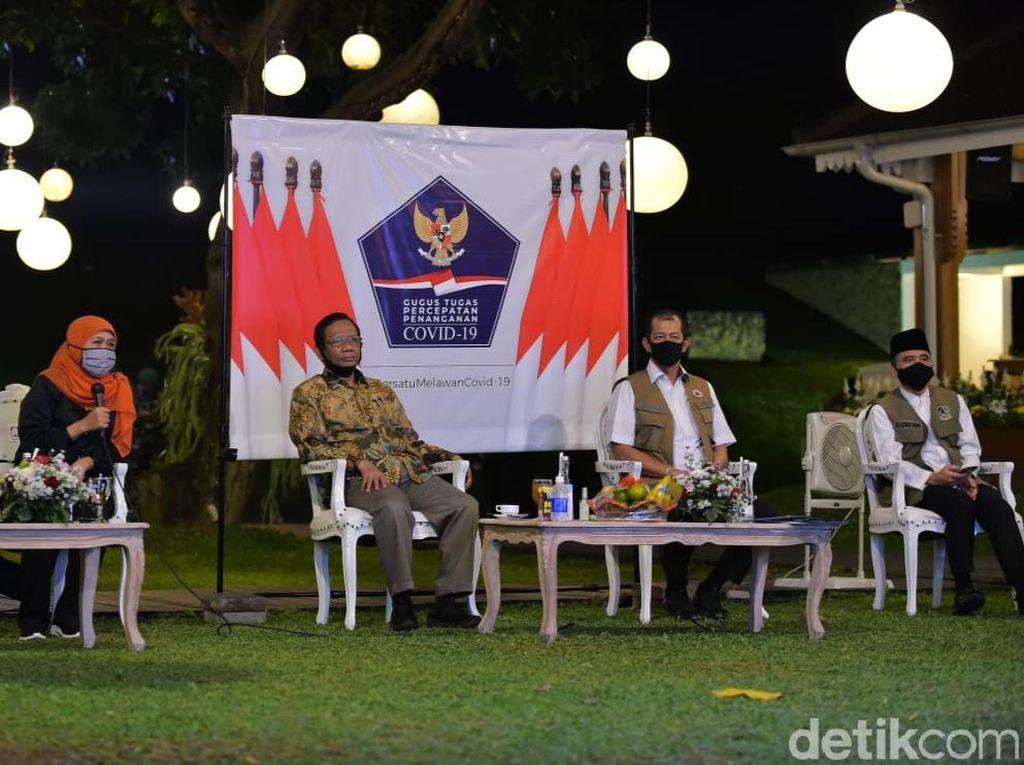 Mahfud MD: Jokowi ke Banyuwangi Bawa Pesan New Normal Wisata