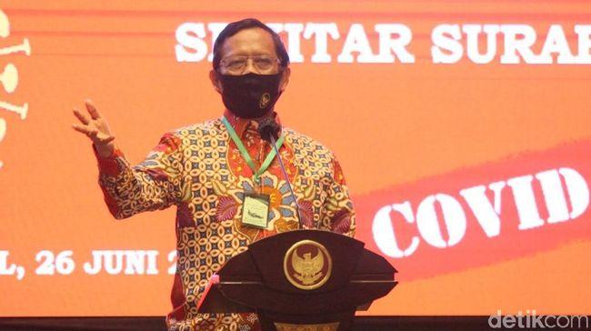 Wakil Ketua DPRD Tegal Gelar Dangdutan, Mahfud Minta Polri Proses Hukum