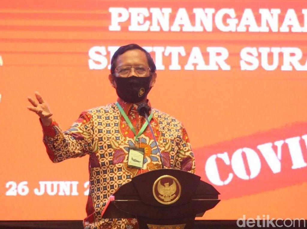 Mahfud Md Jawab Andi Arief: Kami Tak Pernah Bilang SBY-AHY Dalang Unjuk Rasa