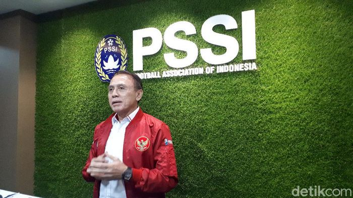 Ketua Umum PSSI, Mochamad Iriawan, atau biasa disapa Iwan Bule.