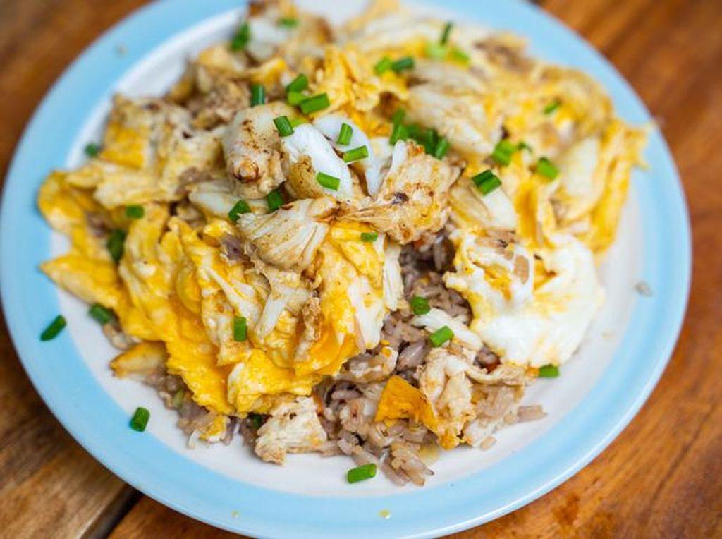 Resep Nasi Goreng Kepiting Buat Sarapan Spesial