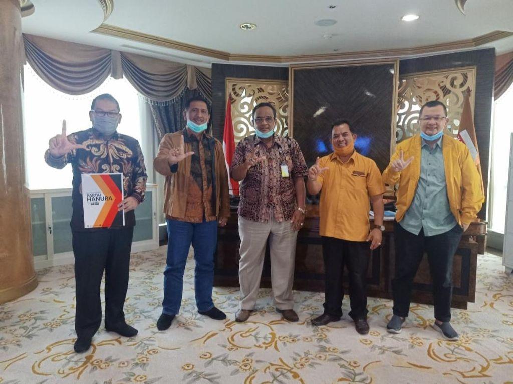 Didukung Hanura, Petahana Fachrori Dekati PD-PDIP untuk Maju Pilgub Jambi