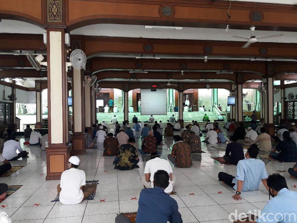 Masjid Sunda Kelapa Minta Jemaah Wudu dari Rumah Sebelum Jumatan
