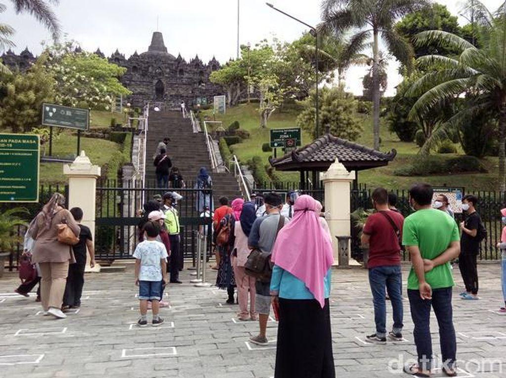 Pengunjung Candi Borobudur Dibatasi Sampai Pelataran