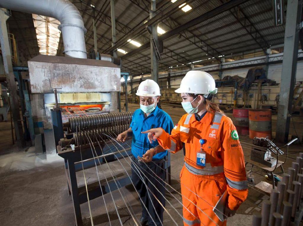 PGN Pasok Gas ke Kawasan Industri Krakatau Steel