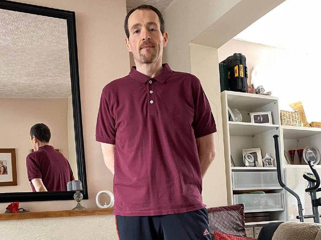 Transformasi Pria dengan Ukuran Baju XXXXXXXXL yang Turun Berat Badan 133 Kg