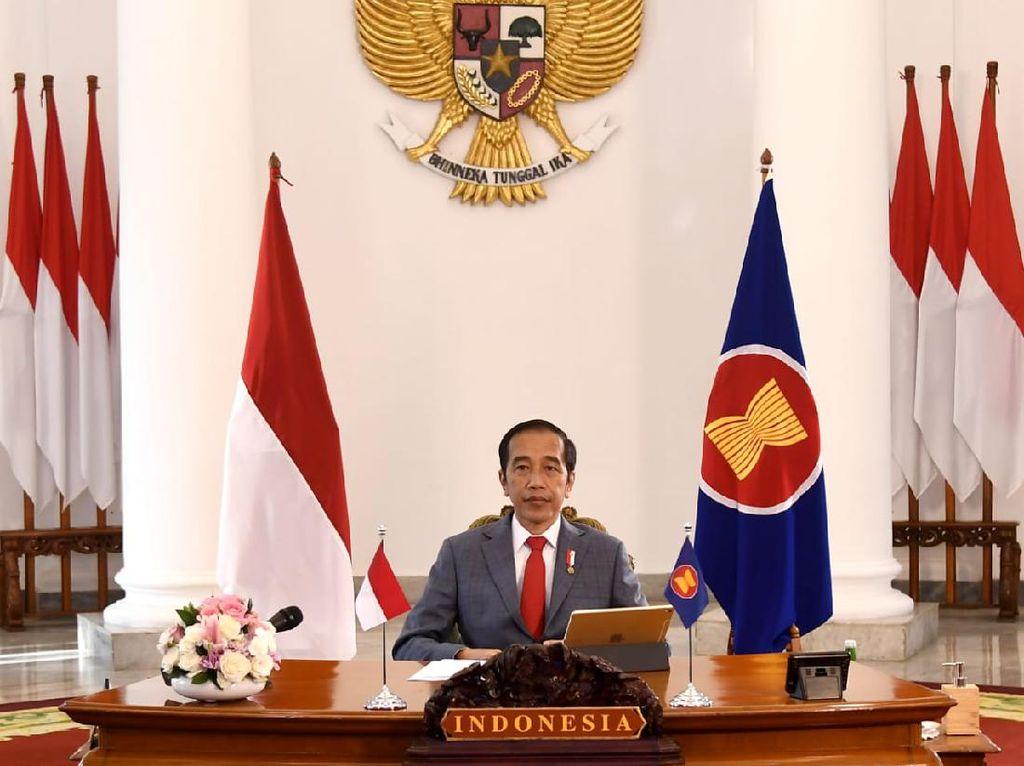 Pidato di KTT ASEAN, Jokowi Dorong Perdamaian Stabilitas Kawasan