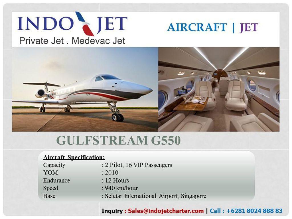 Private Jet Punya Peminat yang Besar di Indonesia