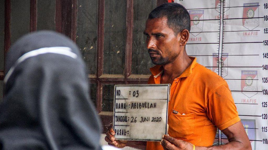 Puluhan Etnis Rohingya di Aceh Diidentifikasi dan Dites Corona