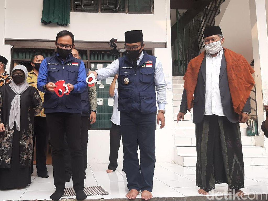 PSBB Jabar Dihentikan, Ridwan Kamil Tak Mau Gegabah Buka Sekolah