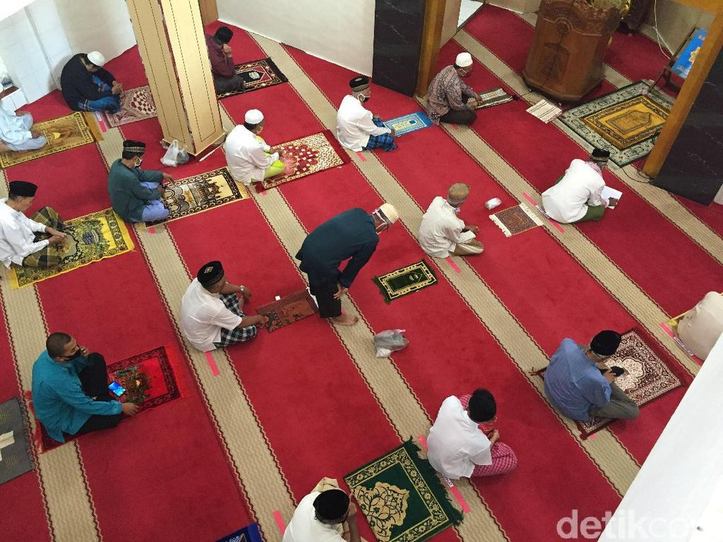 Jakarta PSBB Ketat, DMI Imbau Masjid Tak Gelar Salat Jumat