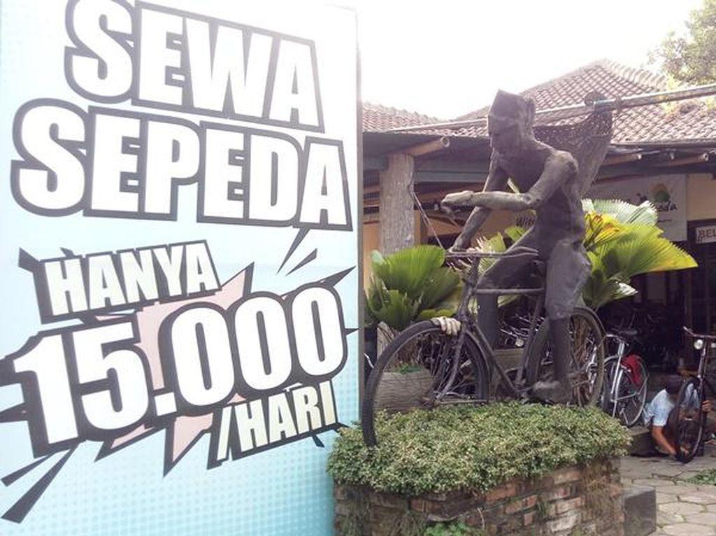 Cuma Rp 15 Ribu, Bisa Puas Sewa Sepeda Keliling Borobudur