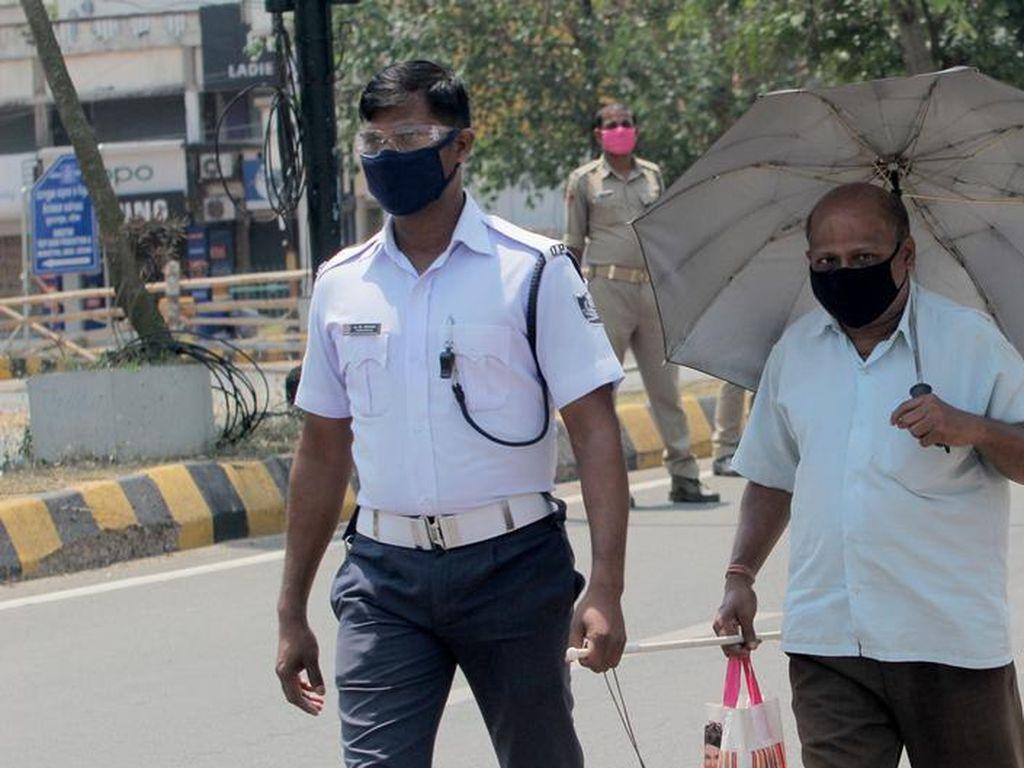 Sulitnya Hidup Kaum Tunanetra di India Selama Pandemi Corona