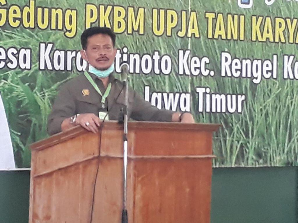Kunjungi Tuban, Mentan Ajak Petani Maksimalkan Mesin Pertanian