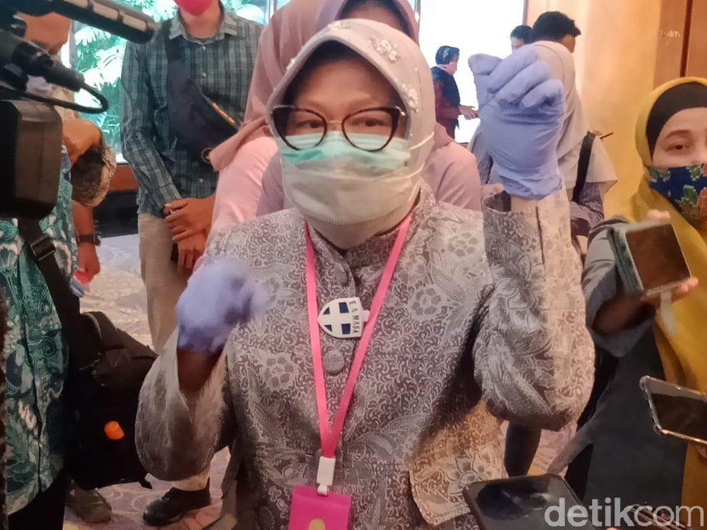 Jatim Diminta Turunkan Kasus Corona dalam 2 Pekan, Risma Sebut Surabaya Sudah