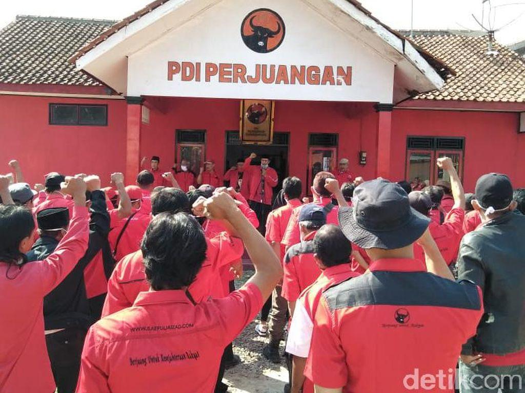 Kecam Pembakaran Bendera, PDIP Banjarnegara Apel Siaga-Merahkan Wilayah