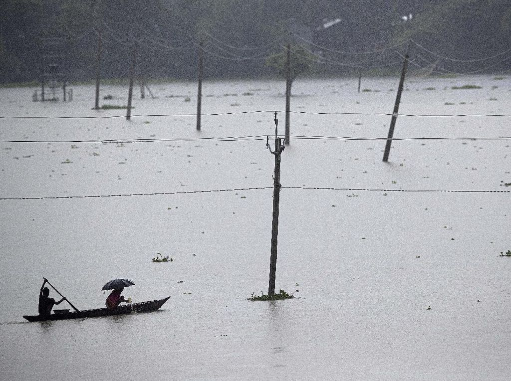 200 Orang Hilang Akibat Gletser Himalaya Tabrak Bendungan di India