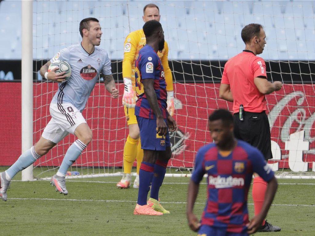 Celta Vigo Vs Barcelona: Messi Cs Ditahan Tim Papan Bawah 2-2