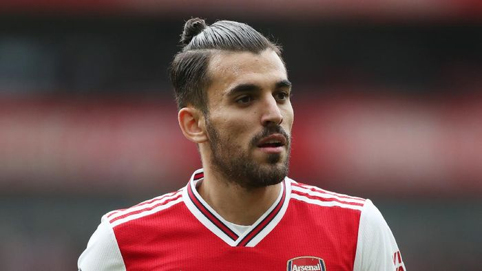 LONDON, ENGLAND - MARCH 07: Dani Ceballos of Arsenal during the Premier League match between Arsenal FC and West Ham United at Emirates Stadium on March 07, 2020 in London, United Kingdom. (Photo by Alex Morton/Getty Images)