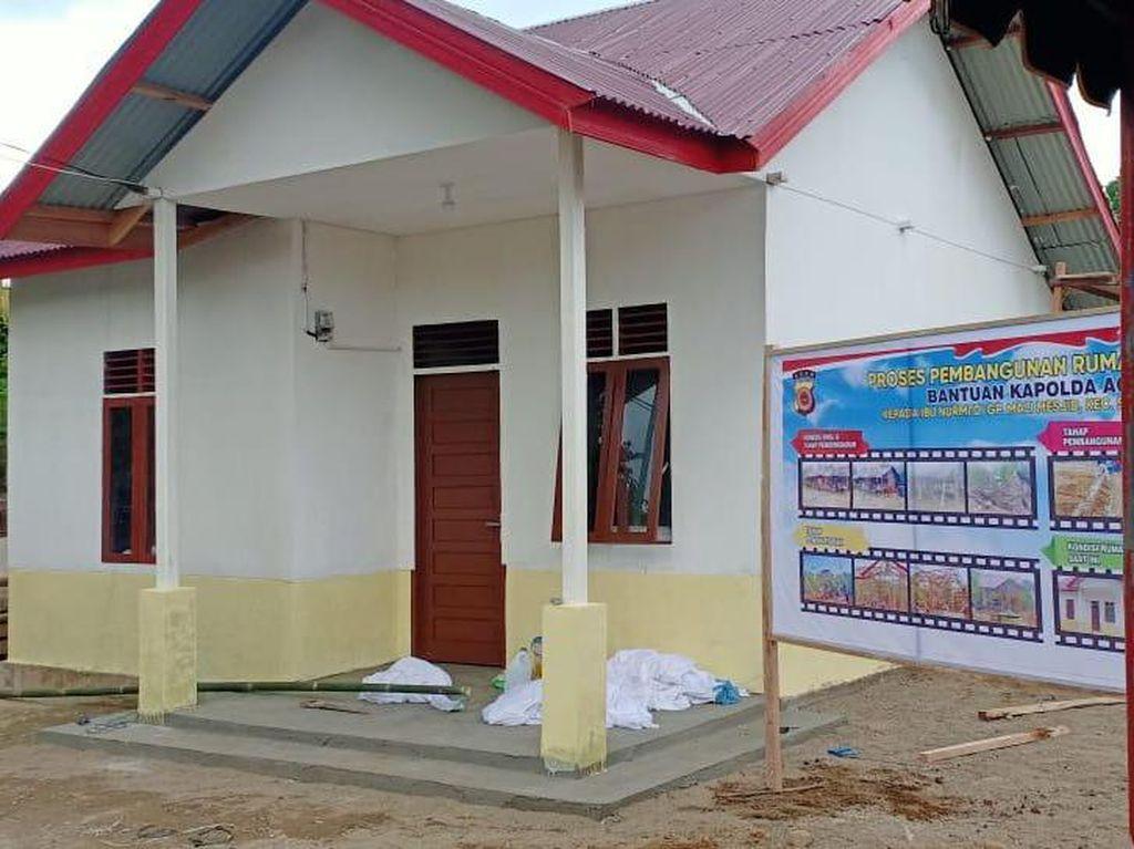 Kisah Nurmiati Puluhan Tahun Tinggal di Gubuk Reyot Kini di Rumah Layak