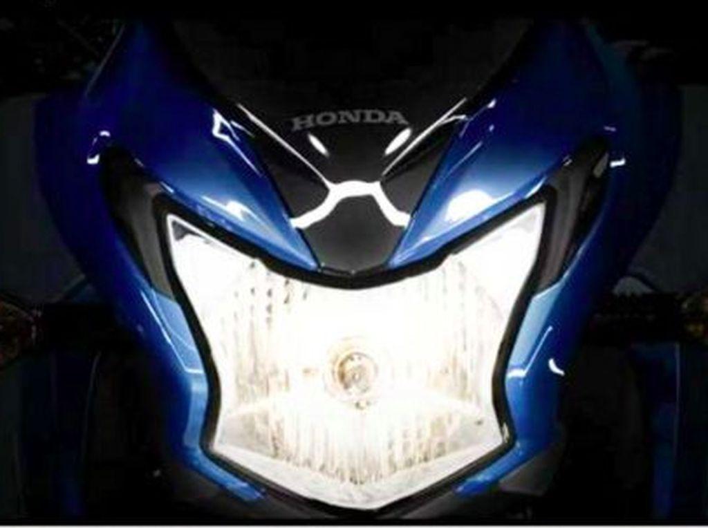 Tampang Motor Sport Honda 110 cc yang Mirip MegaPro