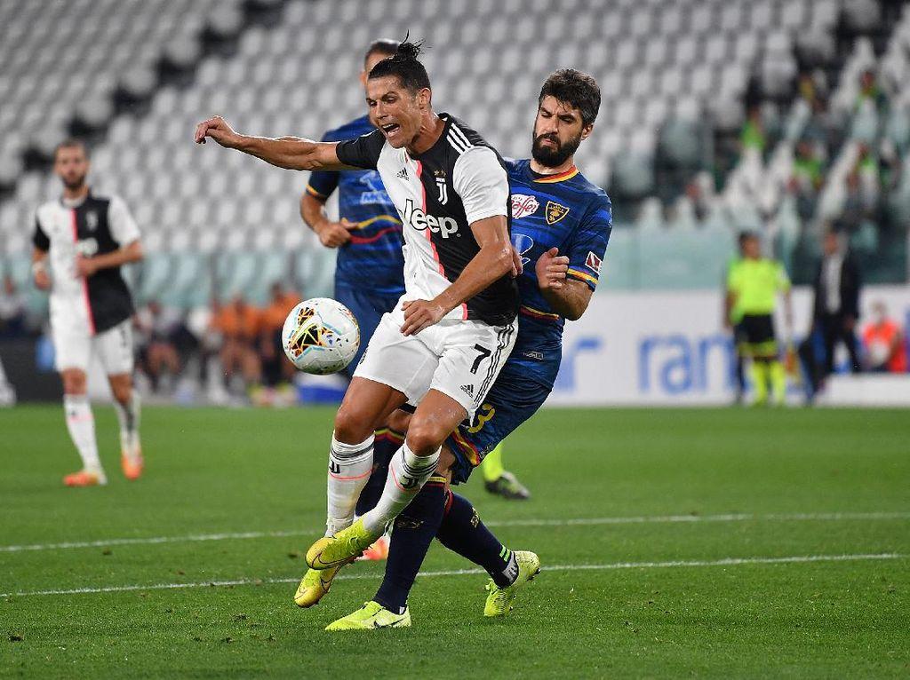 Juventus Vs Lecce: Ronaldo Tampil Apik, Bianconeri Menang Telak 4-0