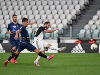Video Juve Vs Lecce 4-0, Ronaldo Torehkan Gol dan Assist
