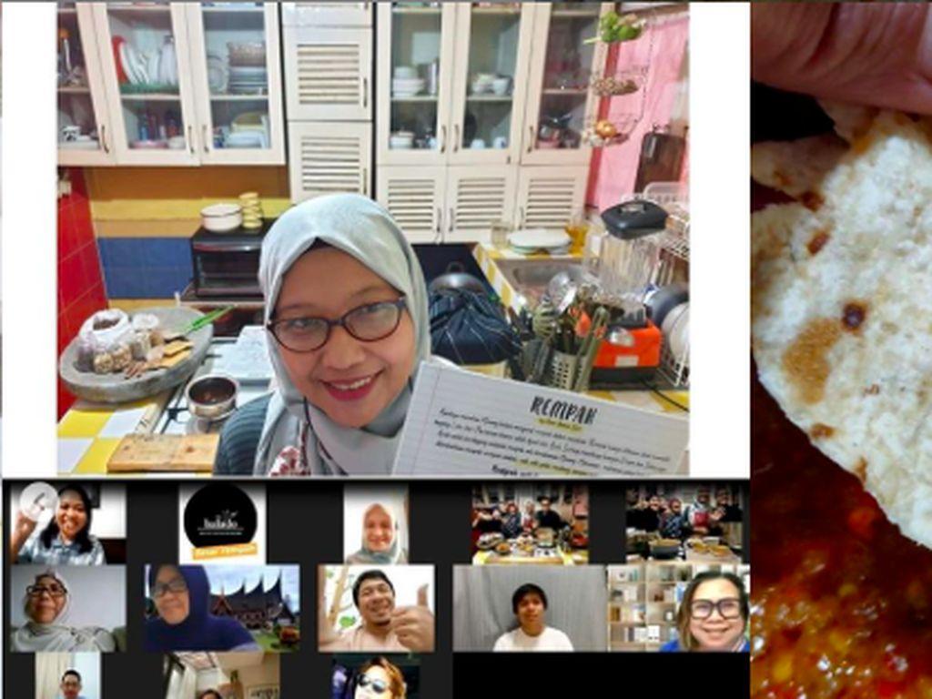 Belajar Bikin Pasta hingga Bumbu Balado Minang Kini Bisa Via Zoom