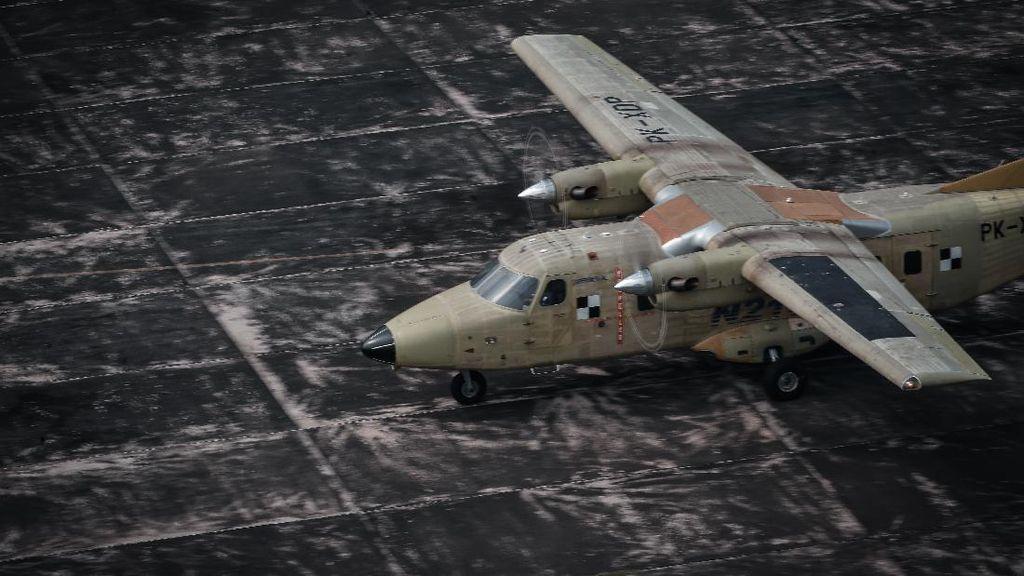 Melihat Lagi Pesawat N219 Racikan Anak Negeri