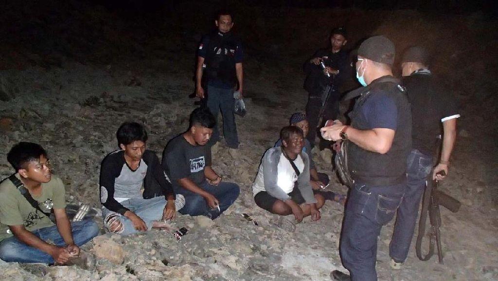 Pelaku Penambangan Batu Bara Ilegal di Tahura Bukit Soeharto Ditangkap
