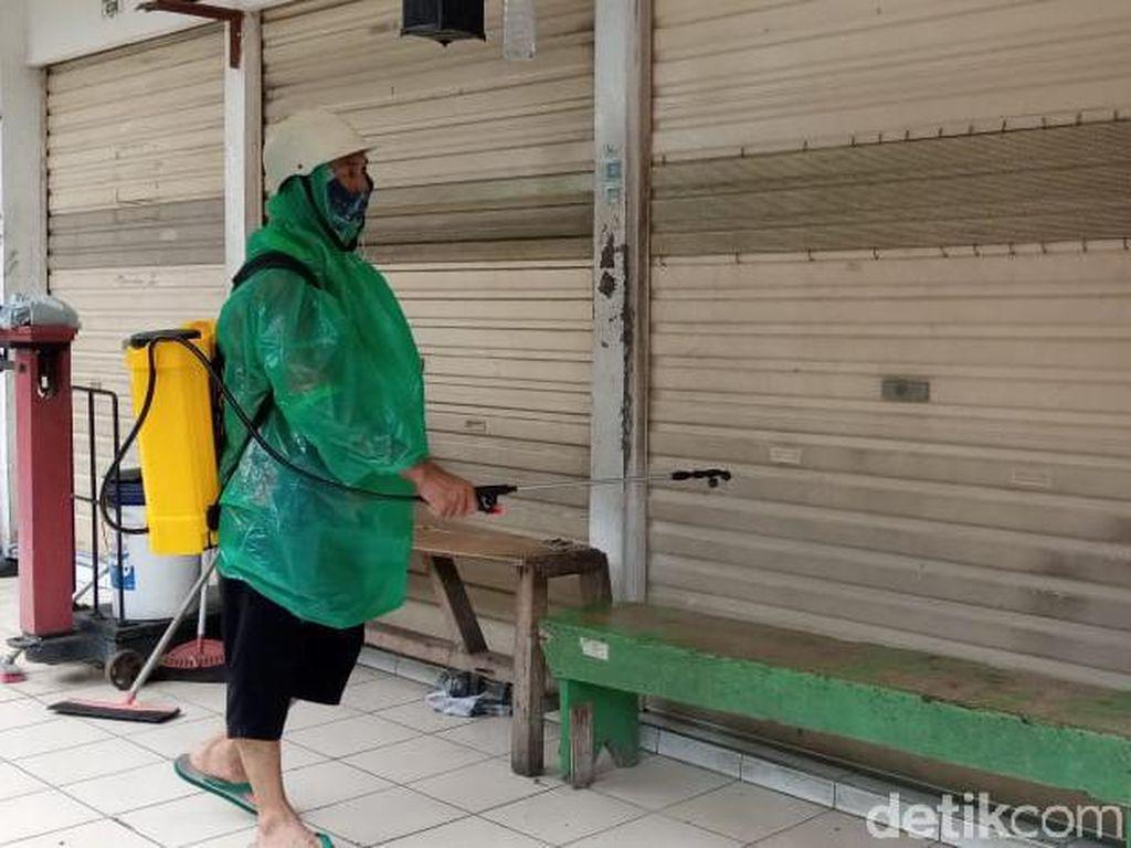 Video Pasar Gembrong Ditutup Gegara Ada Pedagang Positif Corona