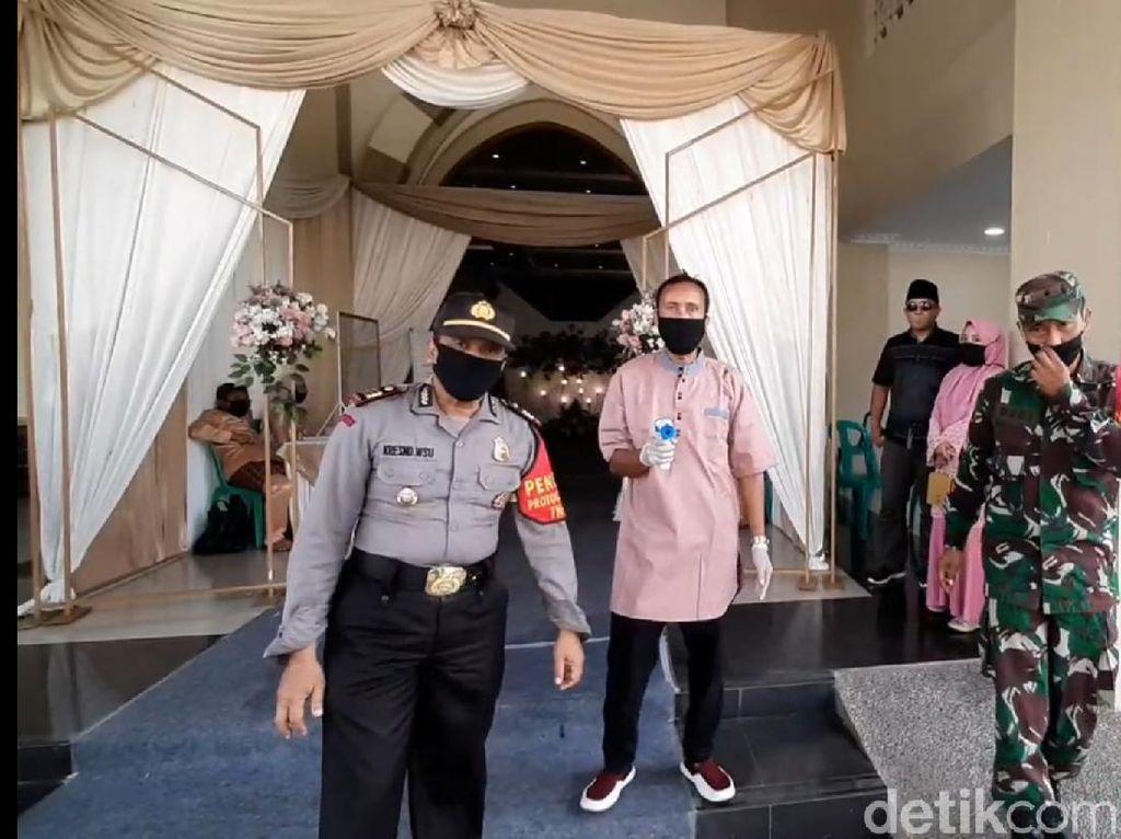 Hari Pertama AKB, Resepsi Pernikahan di Tasikmalaya Disidak
