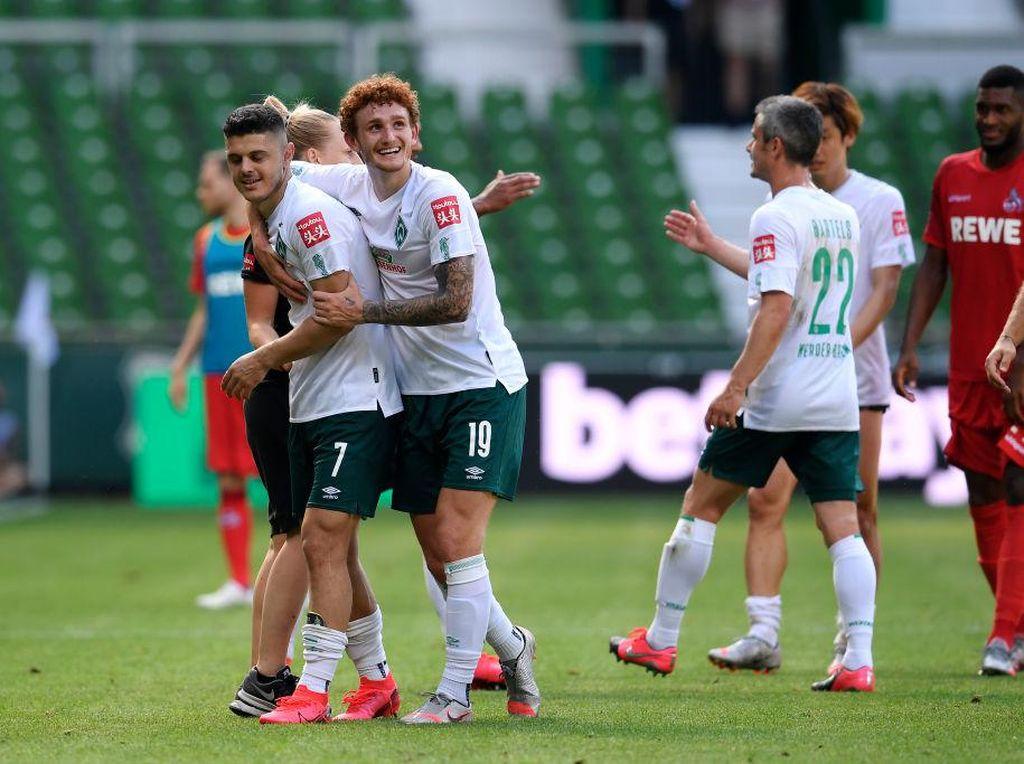 Liga Jerman: Duesseldorf dan Paderborn Degradasi, Bremen Play-off